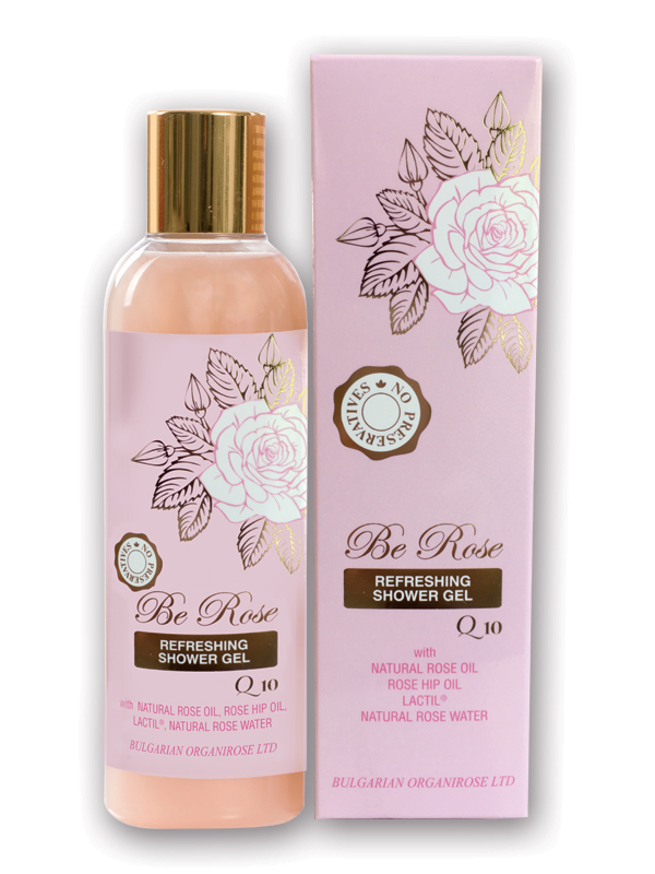 Refreshing shower gel Be rose
