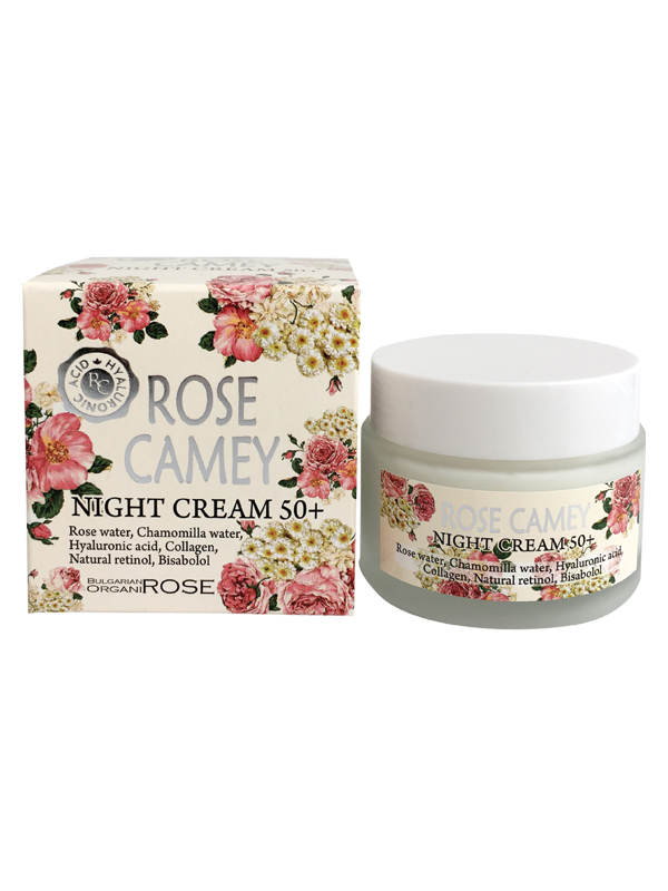 Face cream 50+ Rose Camey