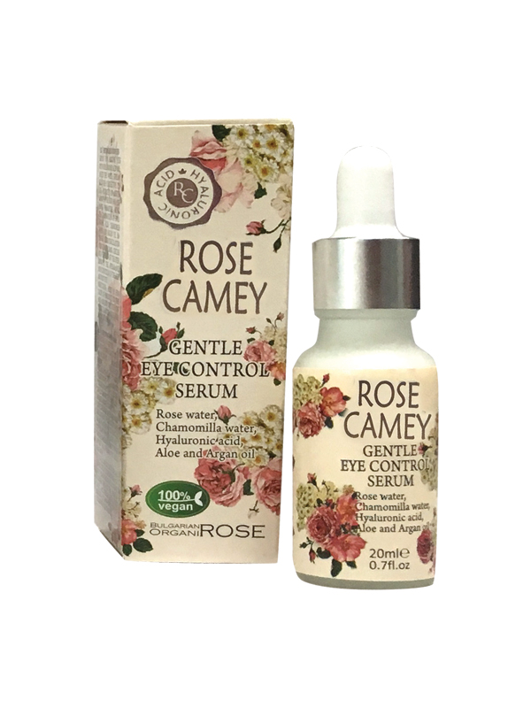 Serum around eyes Rose Camey